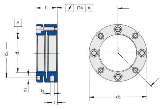 Precision Locknuts Drawing