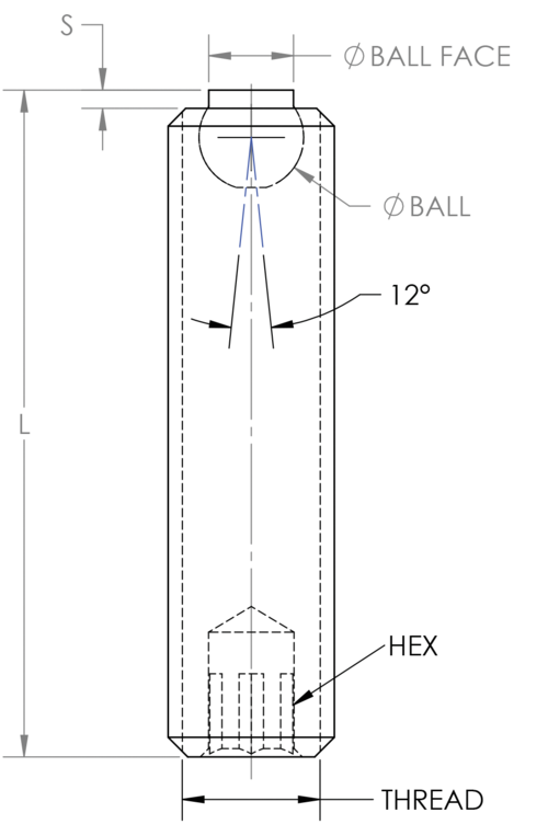 Set Screw Ball Elements