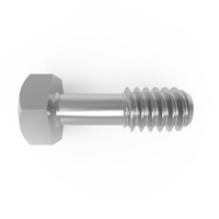 Set of 4 Stainless M4 x 13mm Knurled Thumb Screws with allen key 3mm