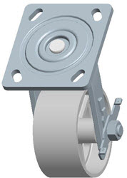 Faultless-Top Plate Swivel Caster-1406-4X2RB