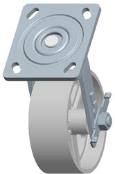 Faultless-Top Plate Swivel Caster-1406-5X2RB