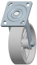 Faultless-Top Plate Swivel Caster-1406-6X2
