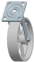 Faultless-Top Plate Swivel Caster-1406-8X2