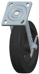 Faultless-Top Plate Swivel Caster-1418-8X2RB