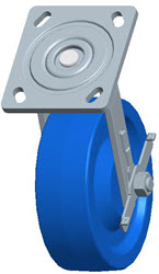 Faultless-Top Plate Swivel Caster-1443-6X2RB