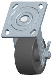 Faultless-Top Plate Swivel Caster-1460-4X2RB