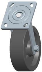Faultless-Top Plate Swivel Caster-1464W-HT-6X2