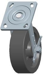 Faultless-Top Plate Swivel Caster-1465W-HT-6X2RB