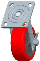 Faultless-Top Plate Swivel Caster-1498-5X2RB