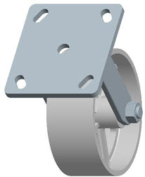Faultless-Top Plate Rigid Caster-3406-5X2