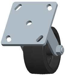 Faultless-Top Plate Rigid Caster-3418-4X2