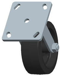 Faultless-Top Plate Rigid Caster-3418-5X2