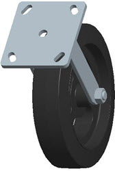Faultless-Top Plate Rigid Caster-3418-8X2