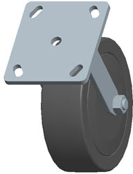 Faultless-Top Plate Rigid Caster-3430-6X2