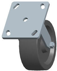 Faultless-Top Plate Rigid Caster-3460-5X2