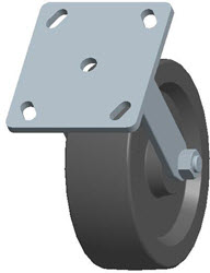 Faultless-Top Plate Rigid Caster-3460-6X2