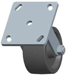 Faultless-Top Plate Rigid Caster-3461-4X2