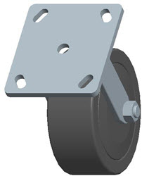 Faultless-Top Plate Rigid Caster-3464W-5X2