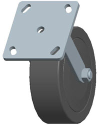 Faultless-Top Plate Rigid Caster-3464W-6X2