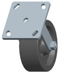 Faultless-Top Plate Rigid Caster-3465W-HT-5X2