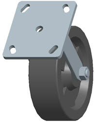 Faultless-Top Plate Rigid Caster-3467W-HT-6X2