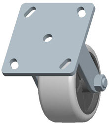 Faultless-Top Plate Rigid Caster-3491-4X2
