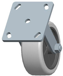 Faultless-Top Plate Rigid Caster-3491-5X2