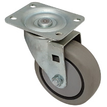 Faultless-Top Plate Swivel Caster-493-4TG