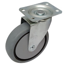 Faultless-Top Plate Swivel Caster-493-5TG