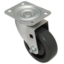 Faultless-Top Plate Swivel Caster-496-3 1/2
