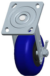 Faultless-Top Plate Swivel Caster-1447-5X2RB