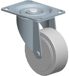Faultless-Top Plate Swivel Caster-A496-3 1/2TG
