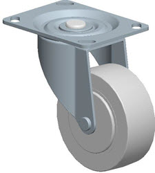 Faultless-Top Plate Swivel Caster-A493-3 1/2TG