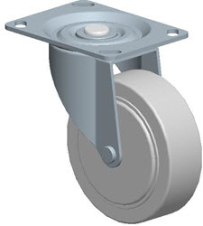 Faultless-Top Plate Swivel Caster-A496-4