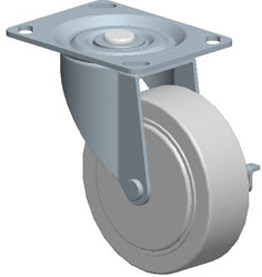 Faultless-Top Plate Swivel Caster-A496-4RB