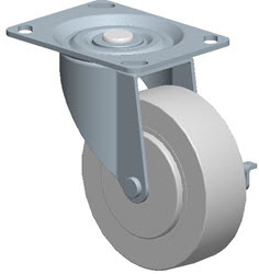 Faultless-Top Plate Swivel Caster-A490-4RB