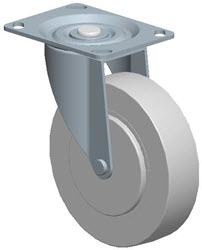 Faultless-Top Plate Swivel Caster-A493-5RB