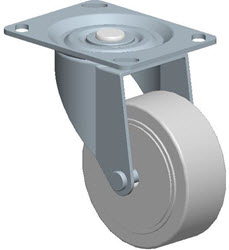 Faultless-Top Plate Swivel Caster-A496-3 1/2