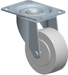 Faultless-Top Plate Swivel Caster-A490-3 1/2