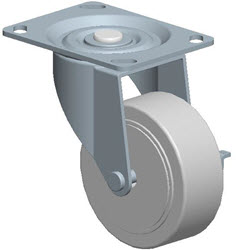 Faultless-Top Plate Swivel Caster-A496-3 1/2RB