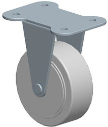 Faultless-Top Plate Rigid Caster-A7796-3 1/2TG