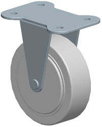 Faultless-Top Plate Rigid Caster-A7799-4