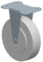 Faultless-Top Plate Rigid Caster-A7790-5