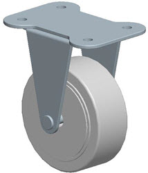 Faultless-Top Plate Rigid Caster-A7799-3 1/2