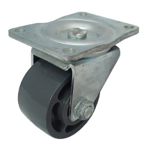 Top Plate Swivel Caster-CC300-SPR-GREY