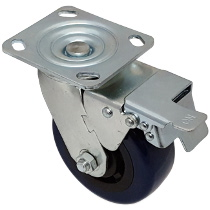 Top Plate Swivel Caster-1448-5X2TB