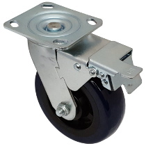 Top Plate Swivel Caster-1448-8X2TB
