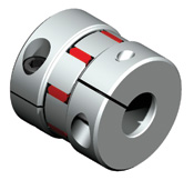 Elastomer couplings are zero backlash and provide vibration / resonance dampening