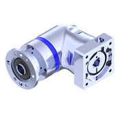 EPR right angle planetary gearbox with hollow output shaft