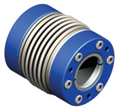 Bellows coupling designed for high speed applications up to 25,000 RPM.